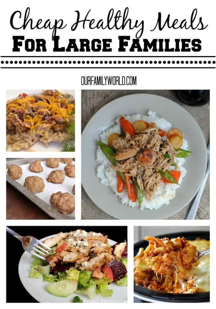 Cheap Dinner Ideas  Cheap Healthy Meals For Families