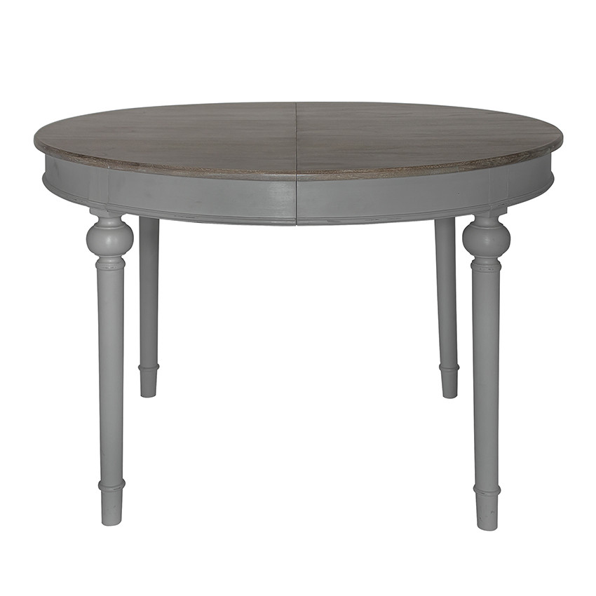 Cheap Dinner Tables  Round extending dining table