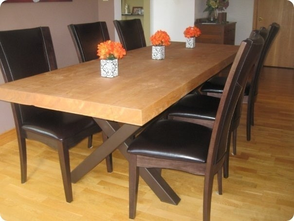 Cheap Dinner Tables  Making Dining Room Table With 14 Diy Dining Table Set