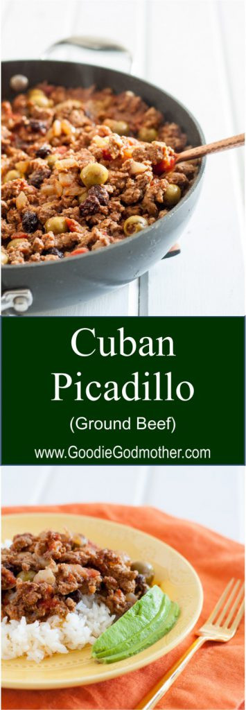 Cheap Ground Beef Recipes  Cuban Picadillo Goo Godmother A Recipe and