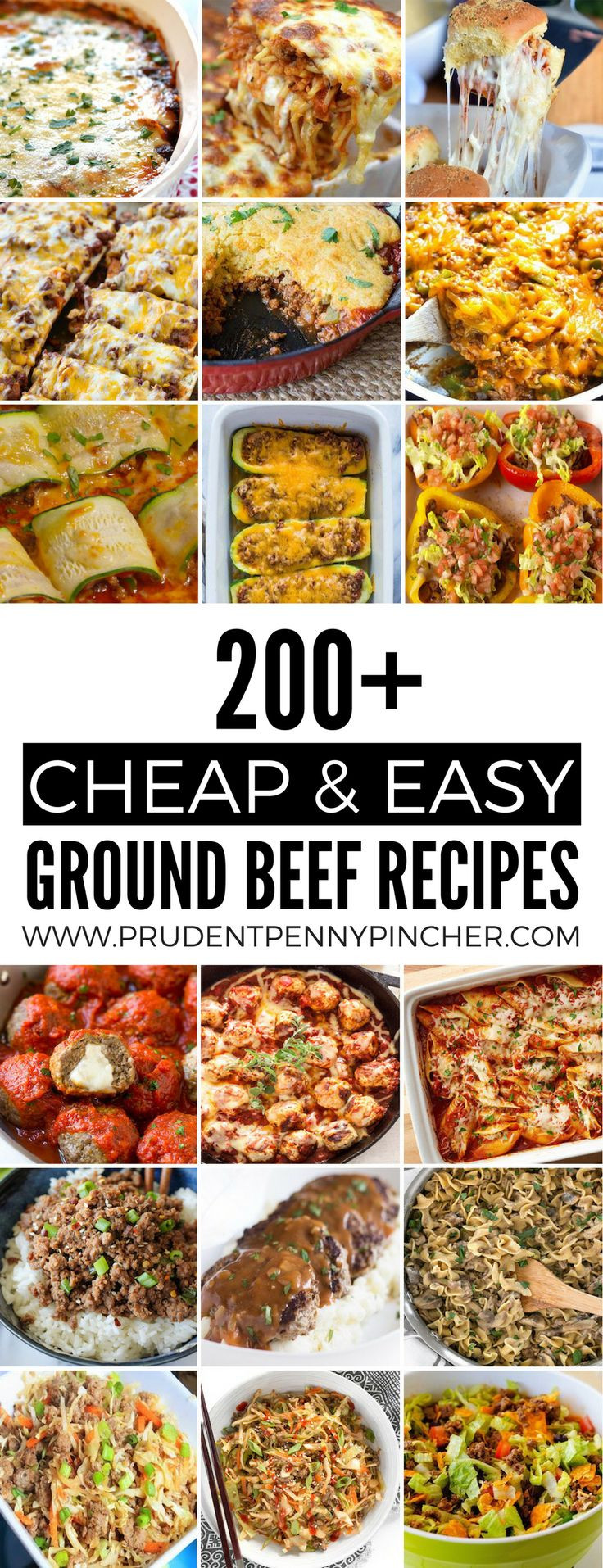 Cheap Ground Beef Recipes  Get 20 Cheap recipes ideas on Pinterest without signing