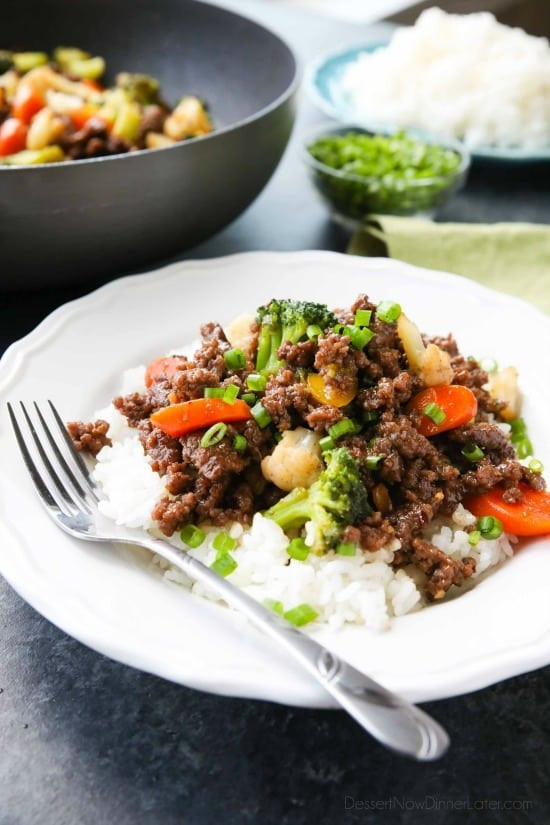Cheap Ground Beef Recipes  Cheap Korean Beef with Ve ables Video Dessert