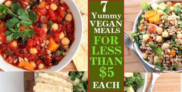 Cheap Vegan Recipes  Vegan A Bud 7 Yummy Meals For Under $5