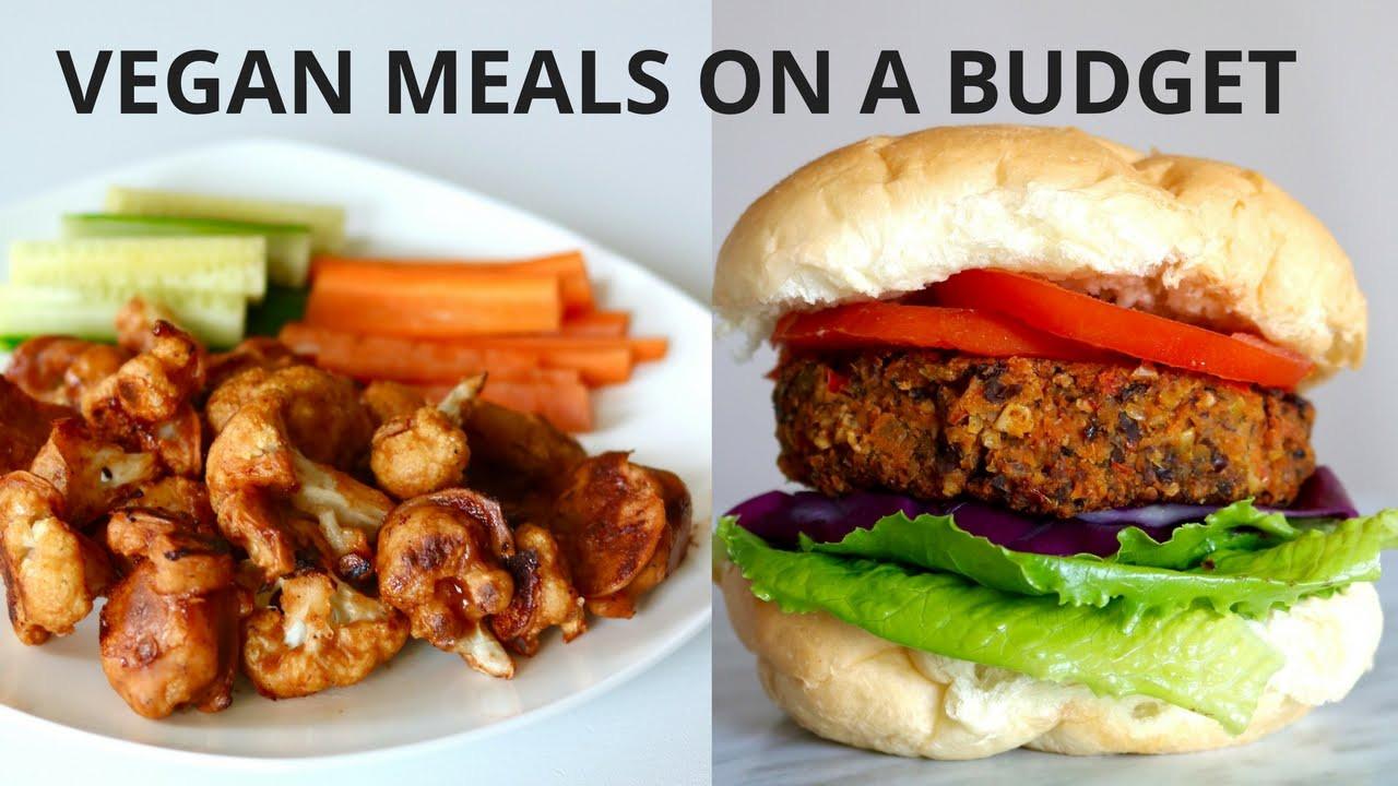 Cheap Vegan Recipes  VEGAN MEALS ON A BUDGET UNDER $3