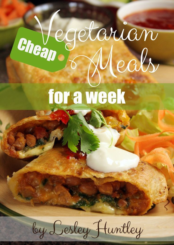Cheap Vegan Recipes  Yours pletely free – Cheap Ve arian Meals for a Week