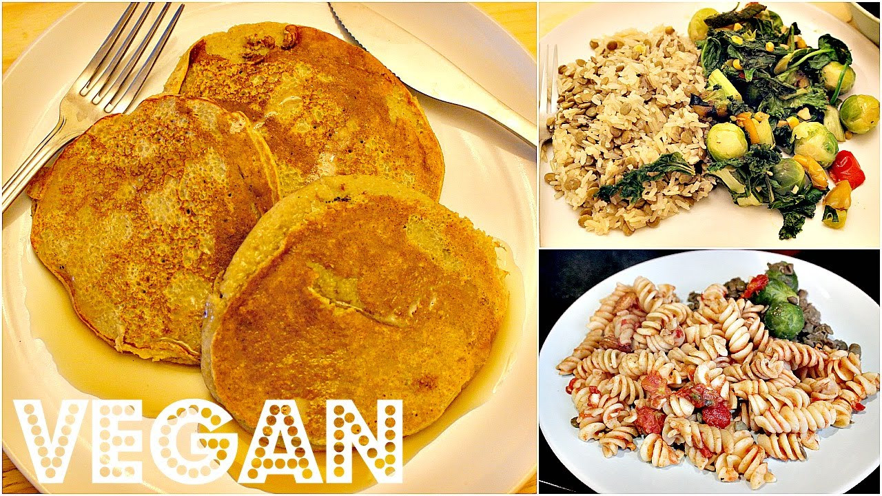 Cheap Vegan Recipes  WHAT I ATE IN A DAY 9 EASY VEGAN RECIPES