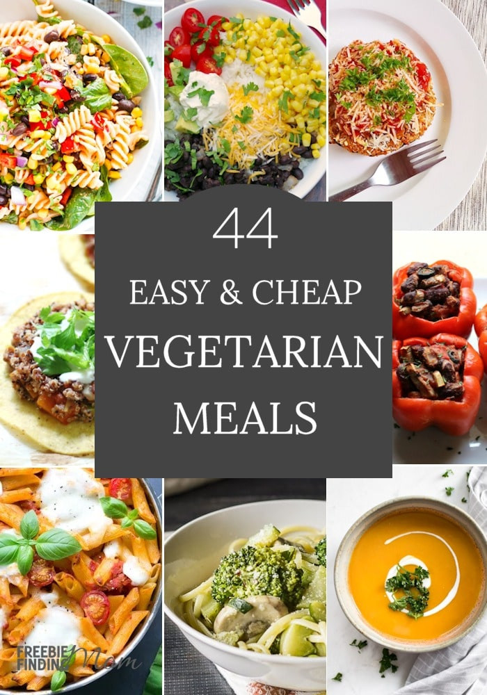 Cheap Vegan Recipes  Cheap Ve arian Meals 44 Easy Recipes
