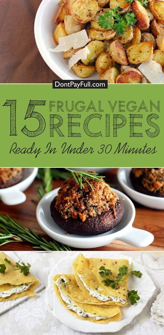 Cheap Vegan Recipes  Best 25 Cheap vegan recipes ideas on Pinterest