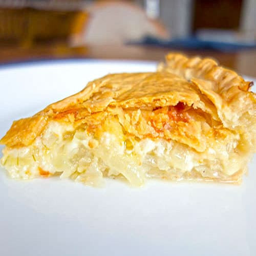 Cheese And Onion Pie  Cheese and ion Pie The Pudge Factor