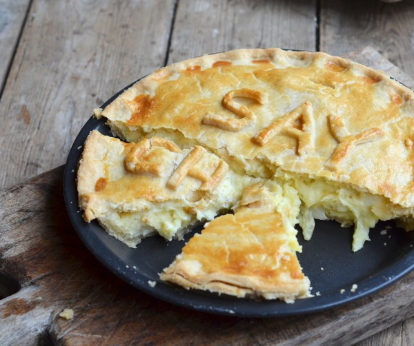 Cheese And Onion Pie  Say Cheese Cheese ion and Potato Pie Recipe for