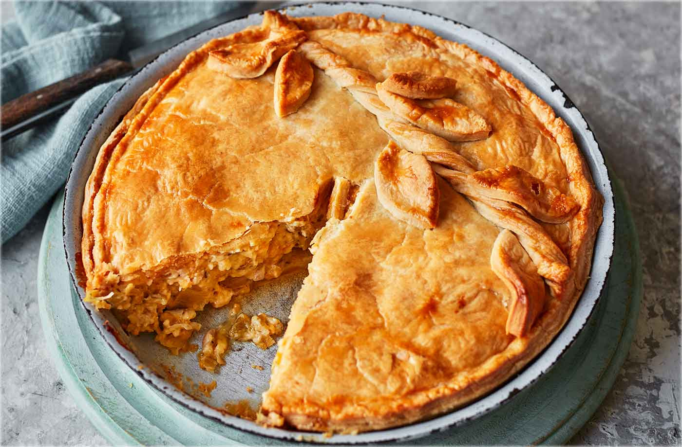 Cheese And Onion Pie  Ultimate cheese and onion pie
