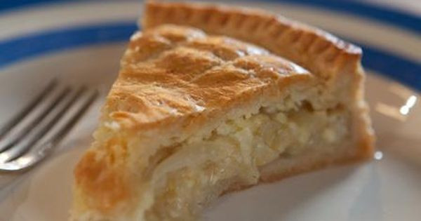 Cheese And Onion Pie  My mother's cheese and onion pie Recipe