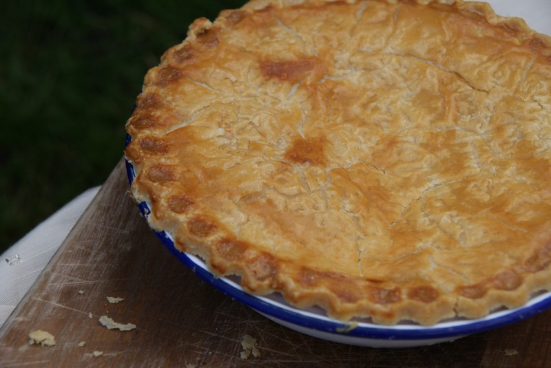 Cheese And Onion Pie  Cheese & ion Pie