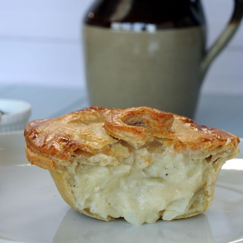 Cheese And Onion Pie  10 cheese potato and onion handmade British pies