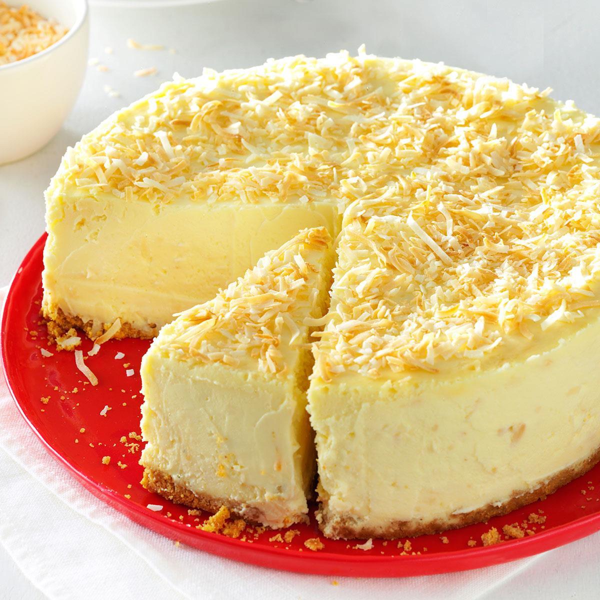 Cheese Cake Recipe  Coconut White Chocolate Cheesecake Recipe