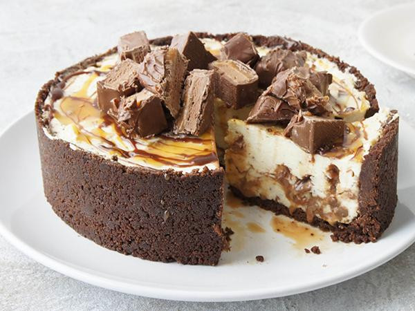 Cheese Cake Recipe  Mars Bar Cheesecake recipe Best Recipes