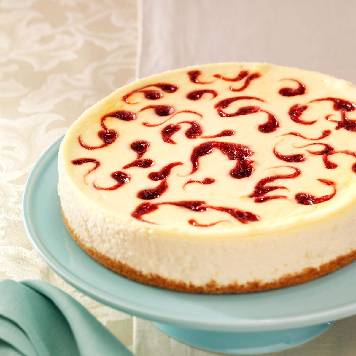 Cheese Cake Recipe  White Chocolate Raspberry Cheesecake Recipe
