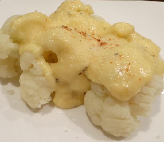 Cheese Sauce For Cauliflower  Cauliflower With Cheddar Cheese Sauce Recipe Food