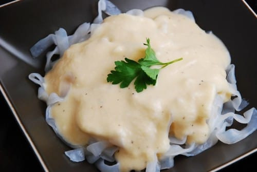Cheese Sauce For Cauliflower  Creamy Cauliflower Cheese Pasta Sauce – 2 Points LaaLoosh