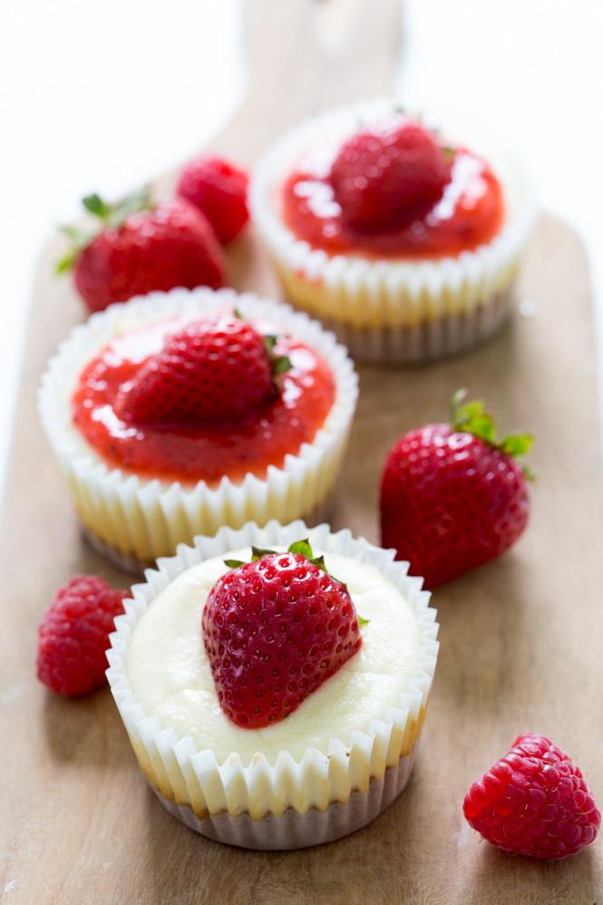Cheesecake Cupcake Recipe  Mini Cheesecake Cupcakes