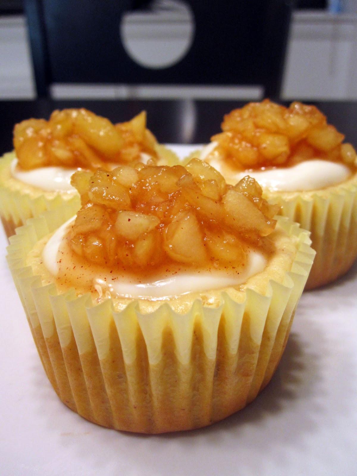 Cheesecake Cupcake Recipe  Apple Cheesecake Cupcakes Cupcake Fanatic