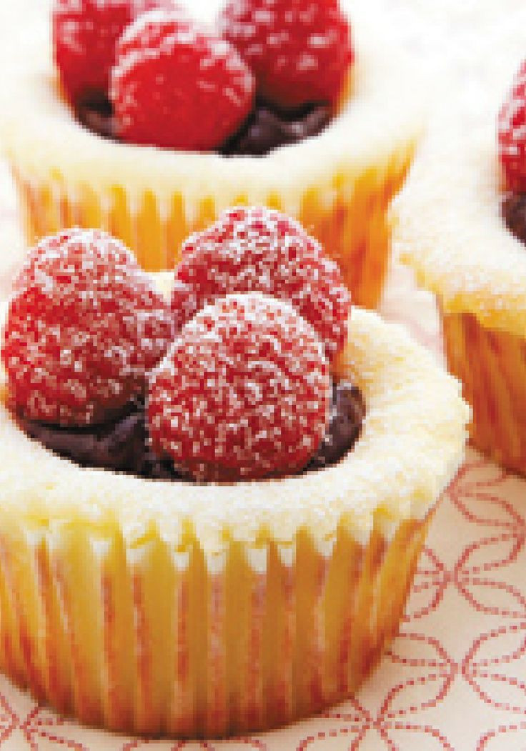 Cheesecake Cupcakes Recipe  310 best images about Mini treats on Pinterest