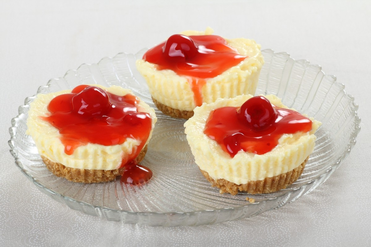 Cheesecake Cupcakes Recipe  Mini Cheesecakes I KitchMe