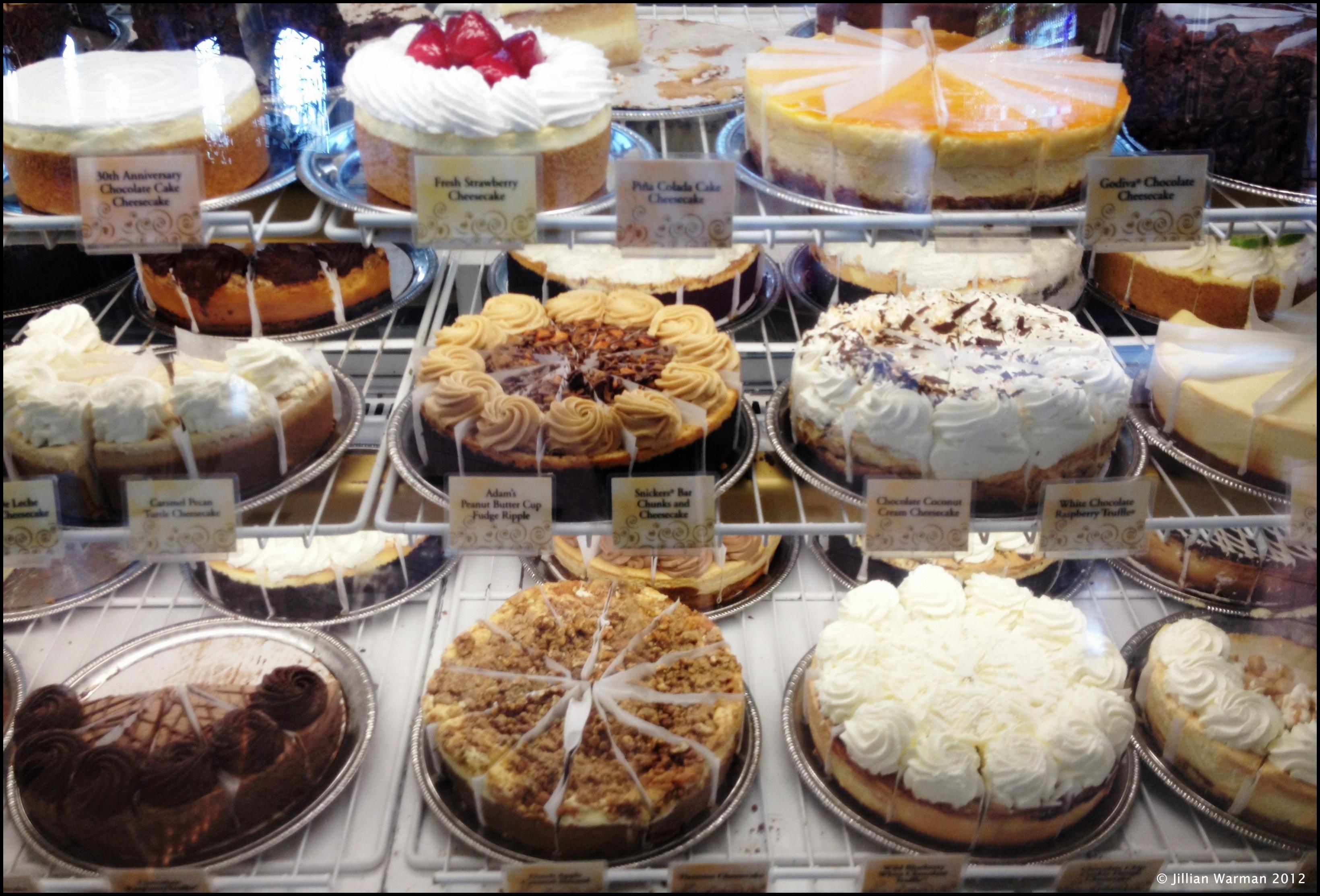 Cheesecake Factory Desserts  The Sugar Beat