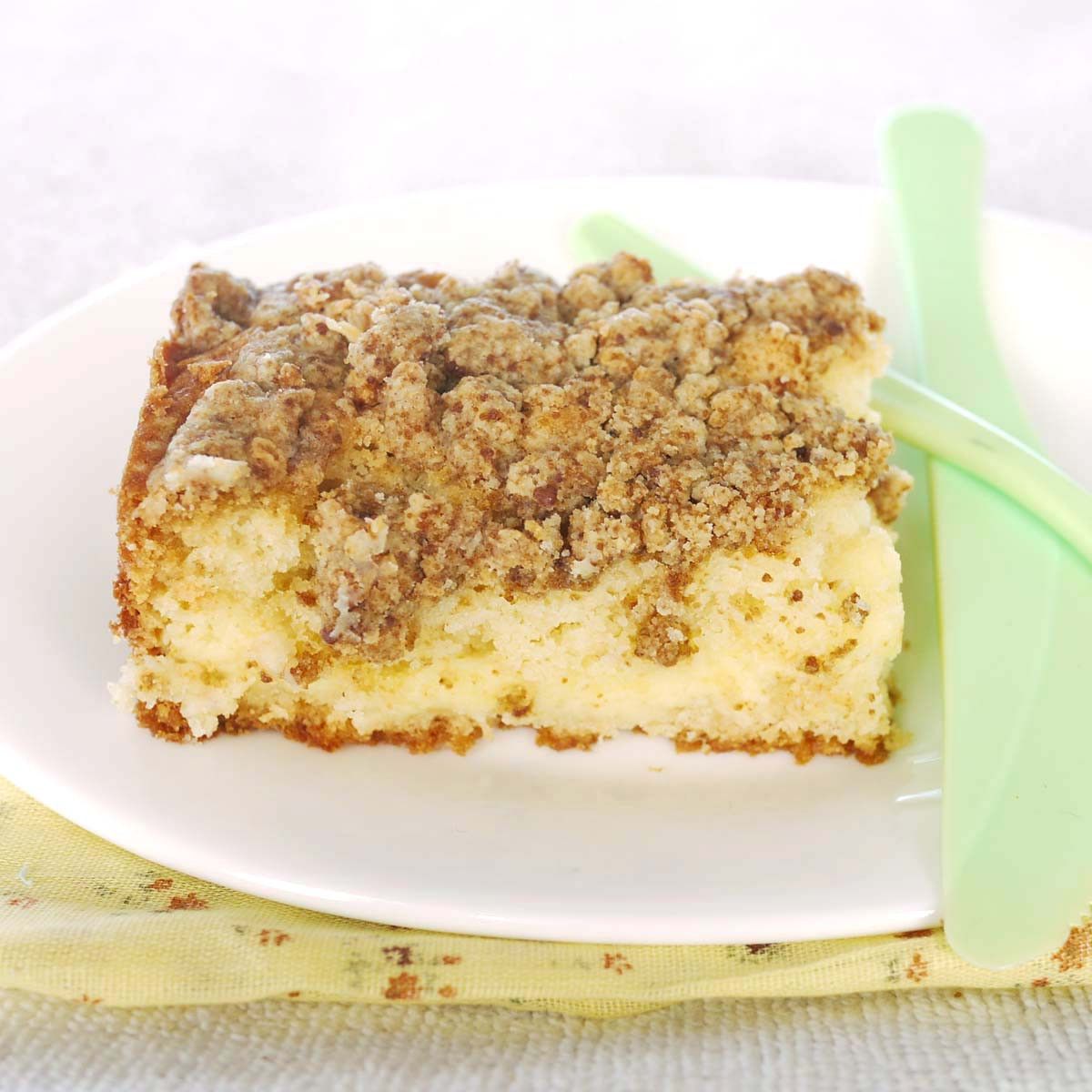Cheesecake Filling Recipe  Coffee Crumb Cake with Lemon Cheesecake Filling
