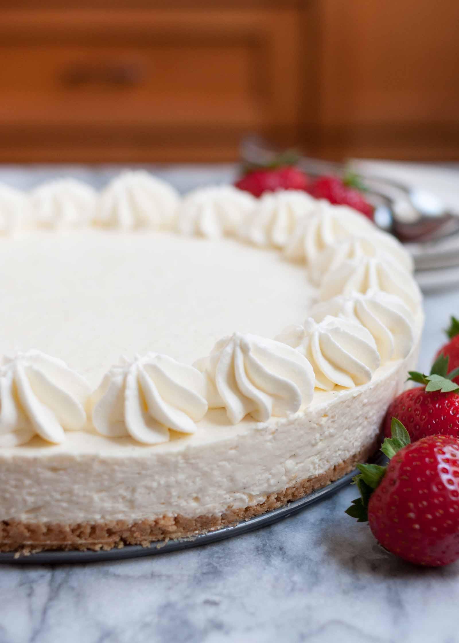 Cheesecake Filling Recipe  No Bake Cheesecake So EASY