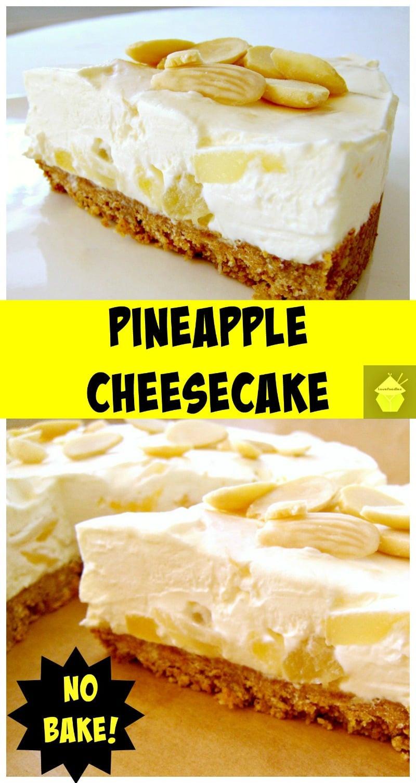 Cheesecake Filling Recipe  pineapple cream cheese cake filling