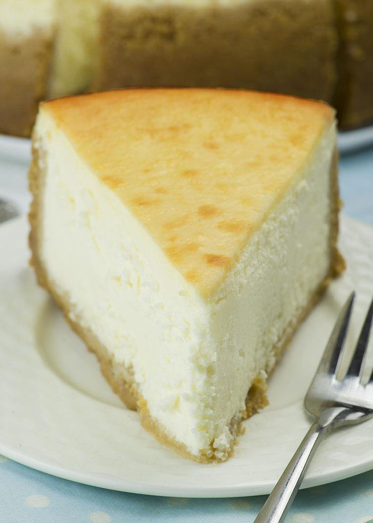 Cheesecake Recipe Easy  New York Style Cheesecake OMG Chocolate Desserts