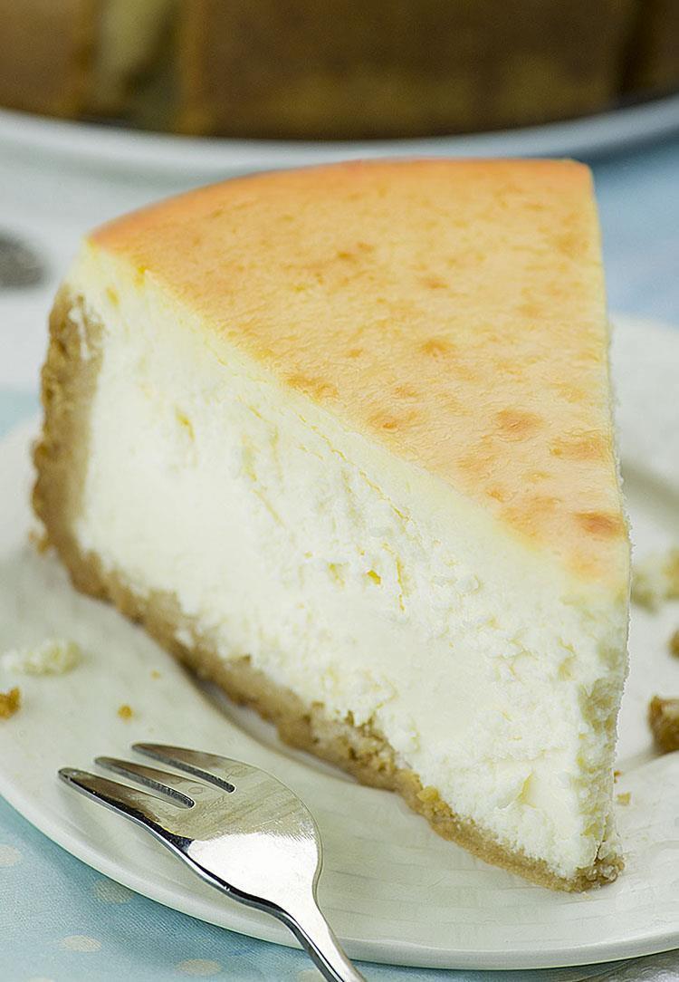 Cheesecake Recipe Easy  New York Style Cheesecake