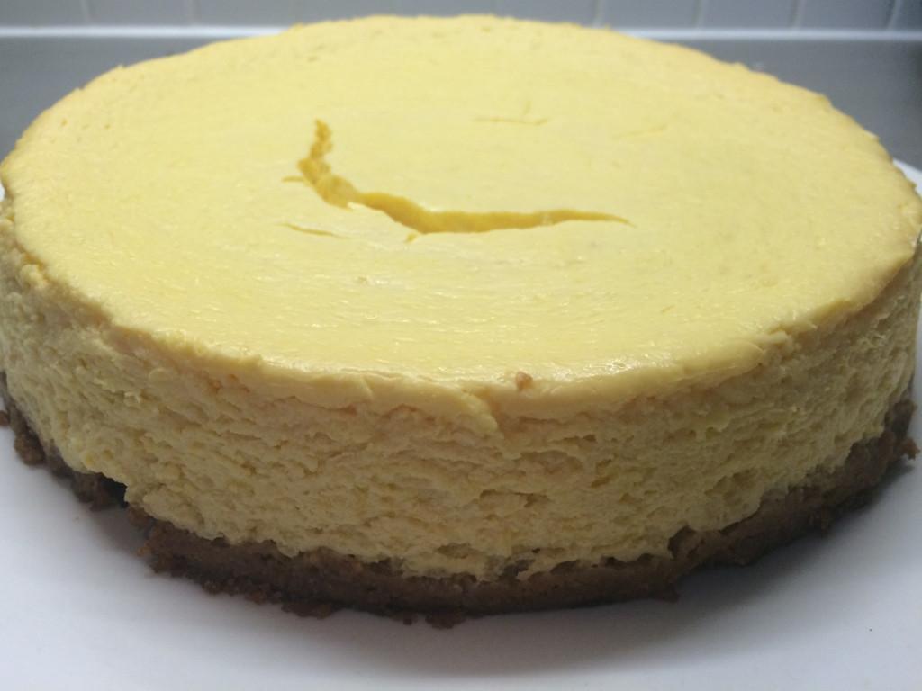 Cheesecake Recipe Easy  Baked Mango Cheesecake