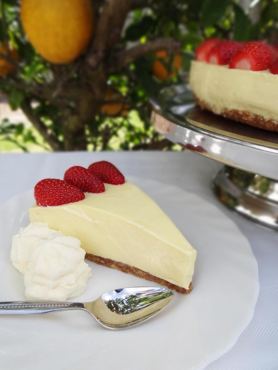 Cheesecake Recipe Easy  Lemon Cheesecake Recipe