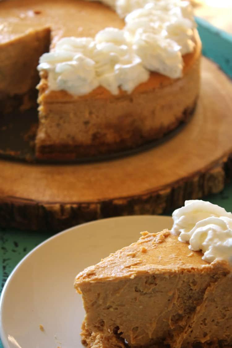 Cheesecake Recipe Easy  Pumpkin Cheesecake A Cheesecake Factory Menu Favorite