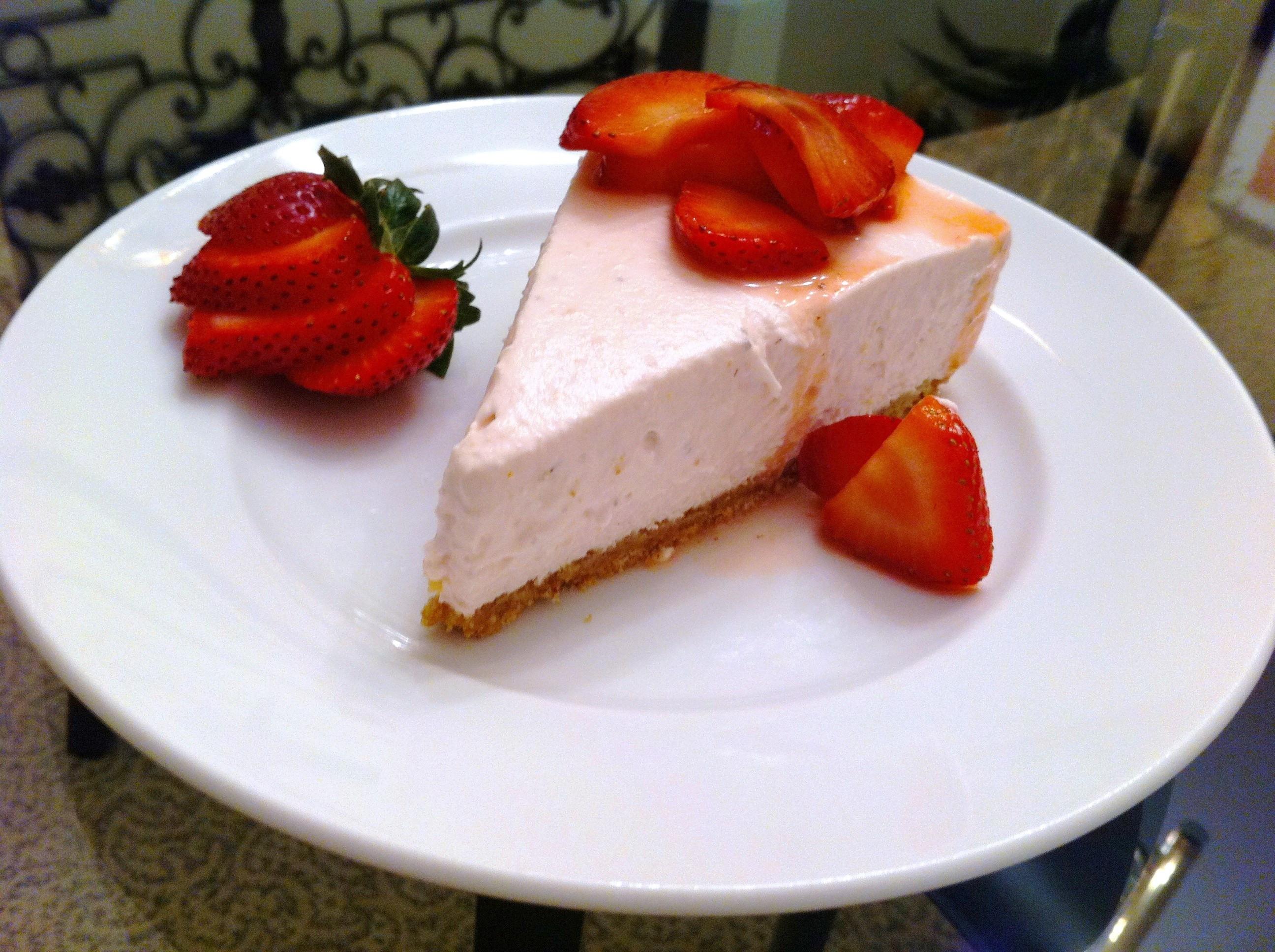 Cheesecake Recipe No Bake  No Bake Strawberry Cheese Cake Andicakes