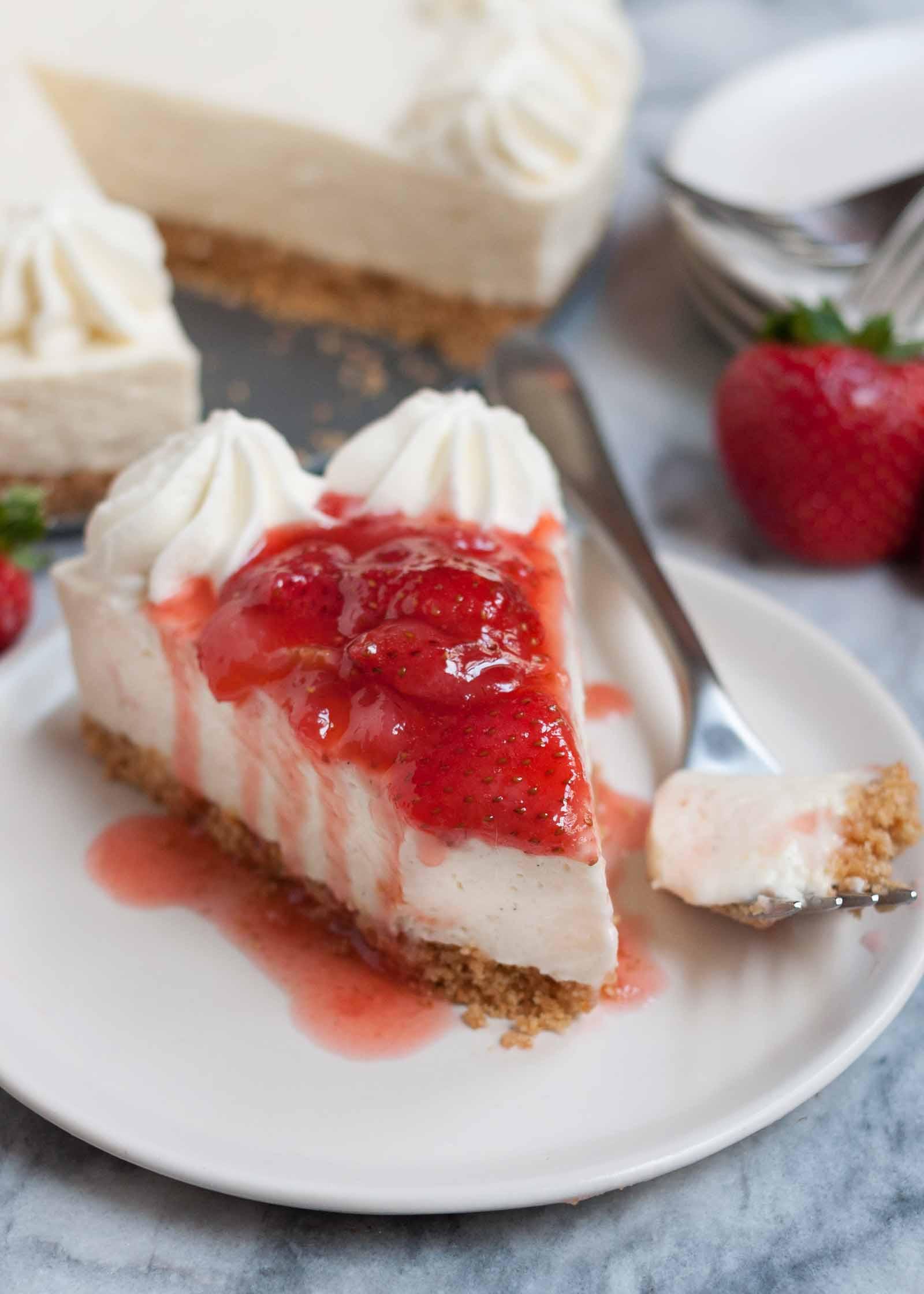 Cheesecake Recipe No Bake  No Bake Cheesecake Recipe