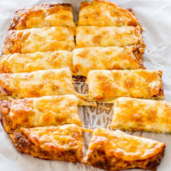 Cheesy Cauliflower Breadsticks  Cutting down on Carbs Eat More Cauliflower Food