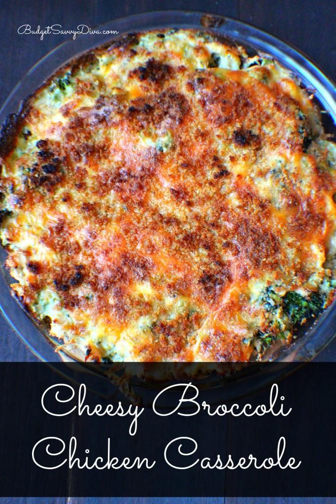 Cheesy Chicken Broccoli Casserole  Cheesy Broccoli Chicken Casserole Recipe