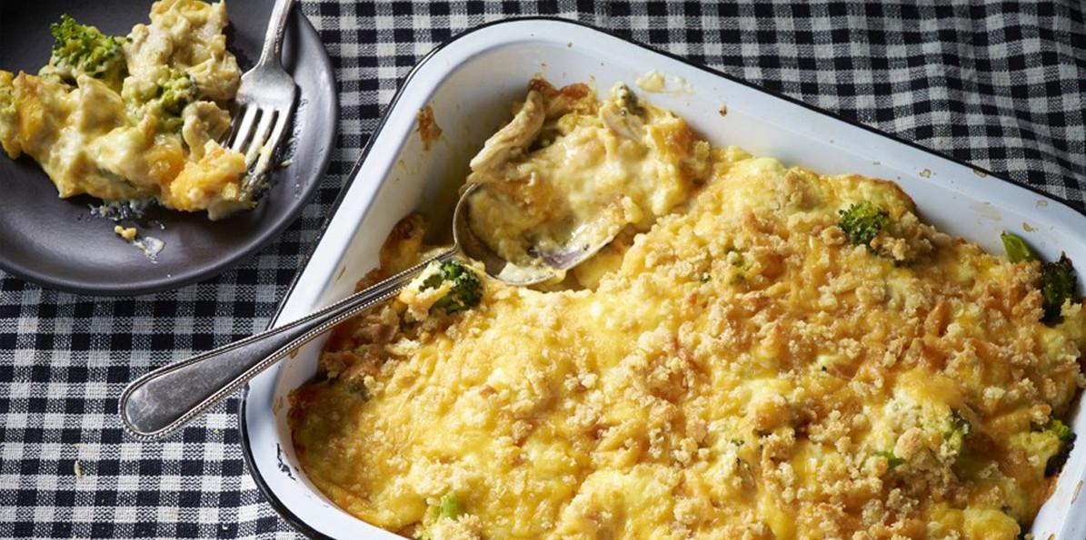 Cheesy Chicken Casserole  Sargento Cheese Cheesy Chicken Casserole