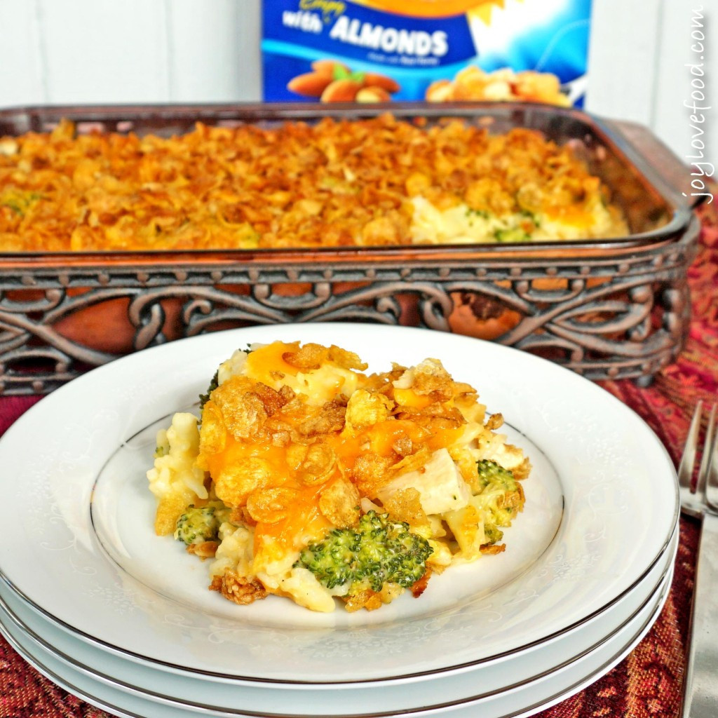 Cheesy Chicken Rice Casserole  Cheesy Chicken Broccoli and Rice Casserole Joy Love Food