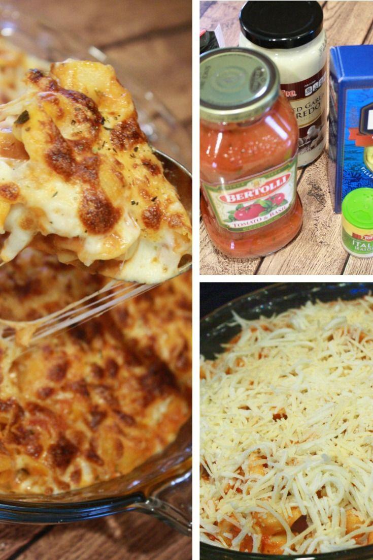 Cheesy Dinner Ideas  Cheesy Tortellini Casserole Recipe