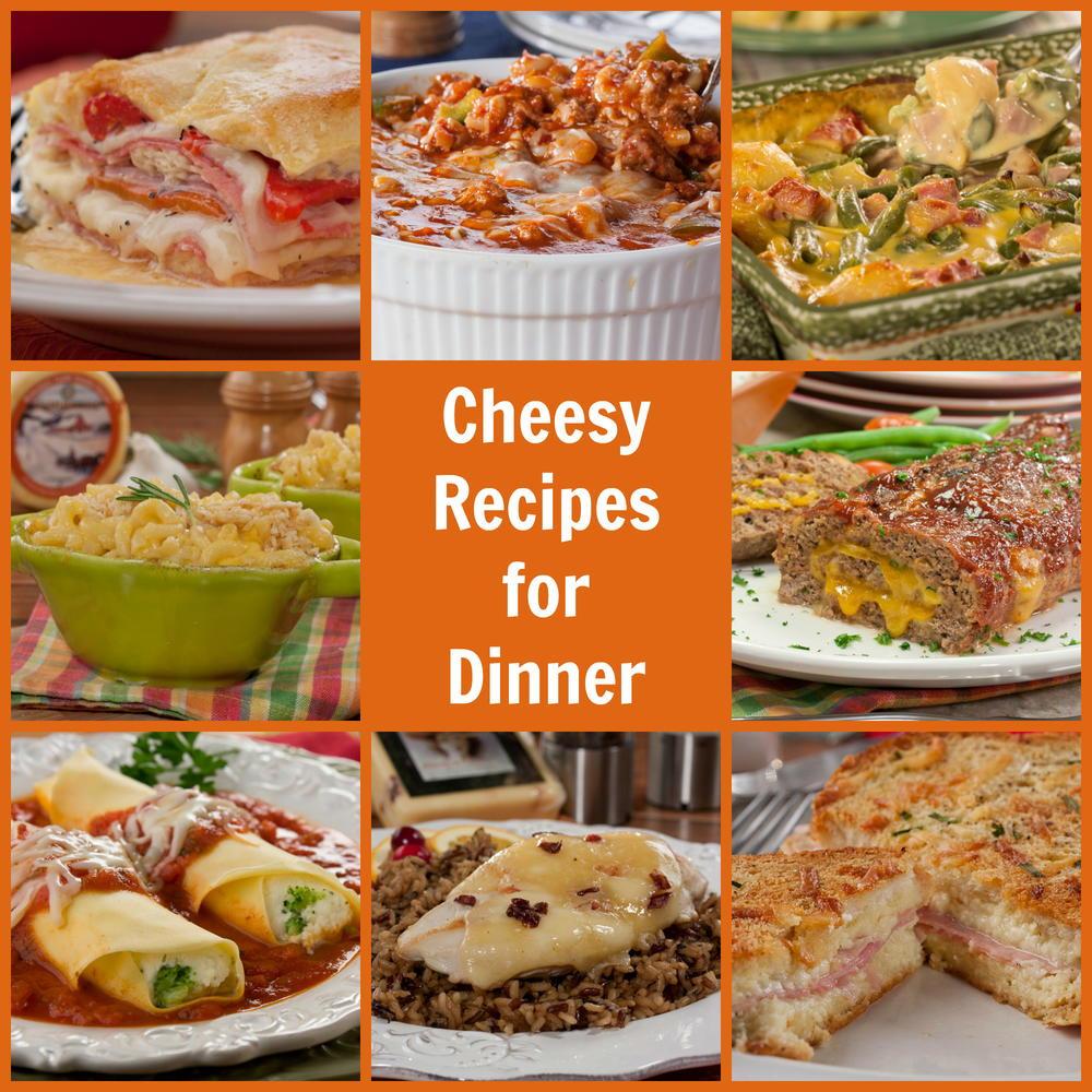 Cheesy Dinner Ideas  10 Cheesy Recipes for Dinner