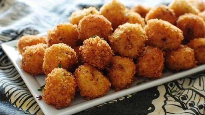 Cheesy Mashed Potato Dippers  25 Cheesy Appetizers and Dips