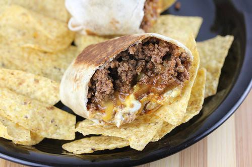 Cheesy Potato Burrito  Taco Bell Cheesy Potato Burrito Recipe