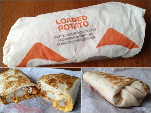 Cheesy Potato Griller  taco bell cheesy potato burrito