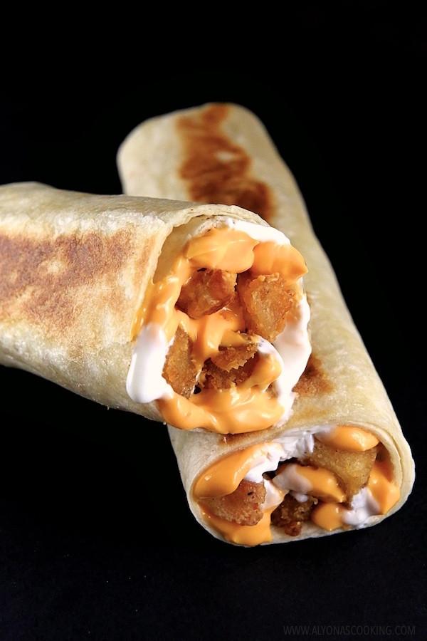 Cheesy Potato Griller  Cheesy Potato Griller Taco Bell Copycat Recipe