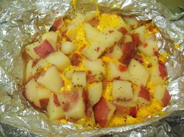 Cheesy Potato Griller  Cheesy Grilled Potatoes Recipe
