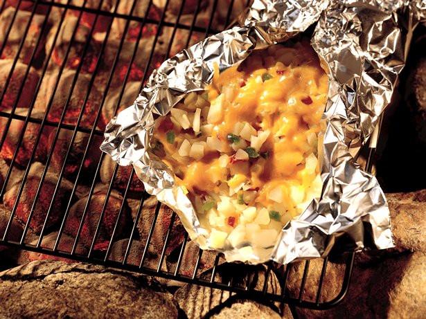 Cheesy Potato Griller  Grilled Cheesy Potato Packet